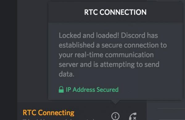 Discord RTC Connecting how to fix