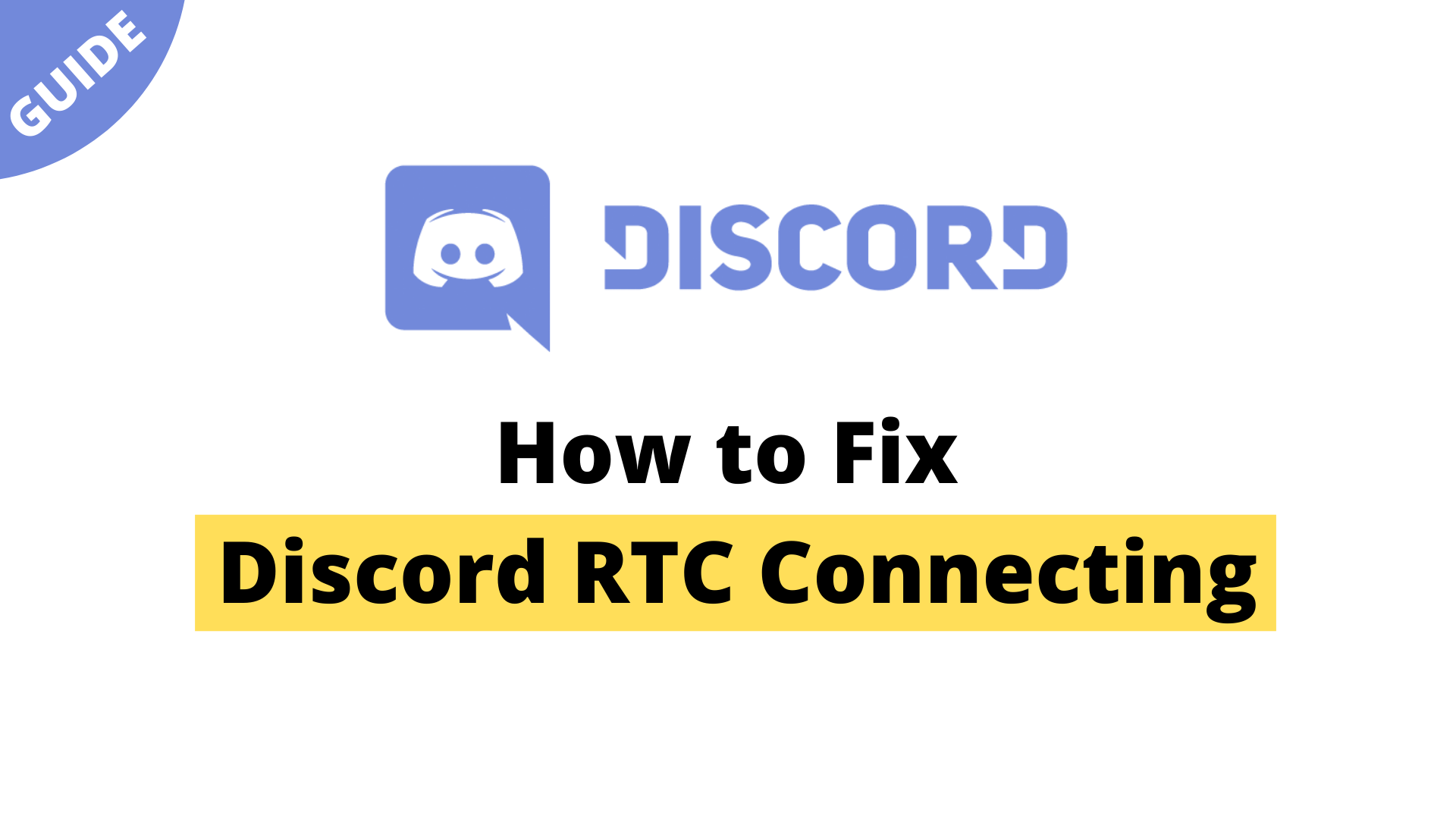 How to Fix Discord RTC Connecting