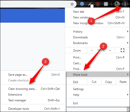 Clear Browser Cache and Cookies